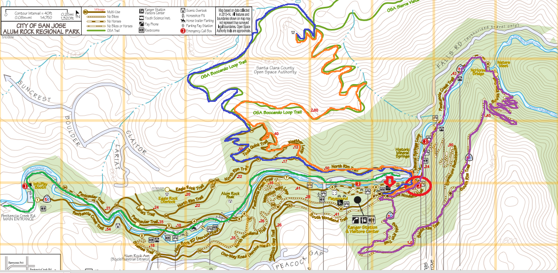 alum rock park_hiking map