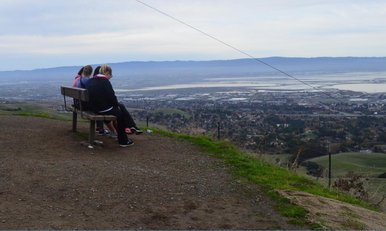 mission peak10_4th bench