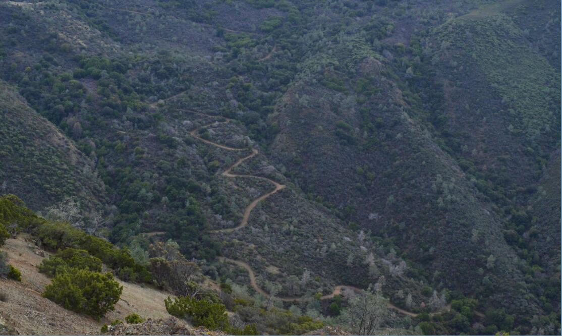 Mount Diablo Eagle Peak Trail29