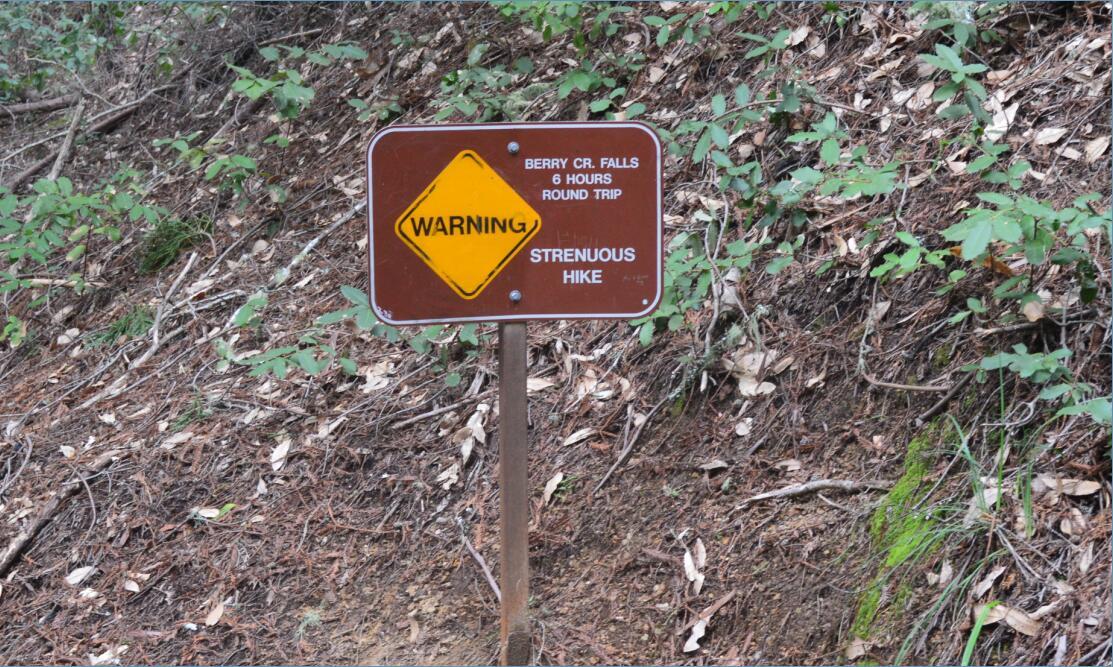 Big Basin Redwoods State Park Berry Creek Falls Loop68