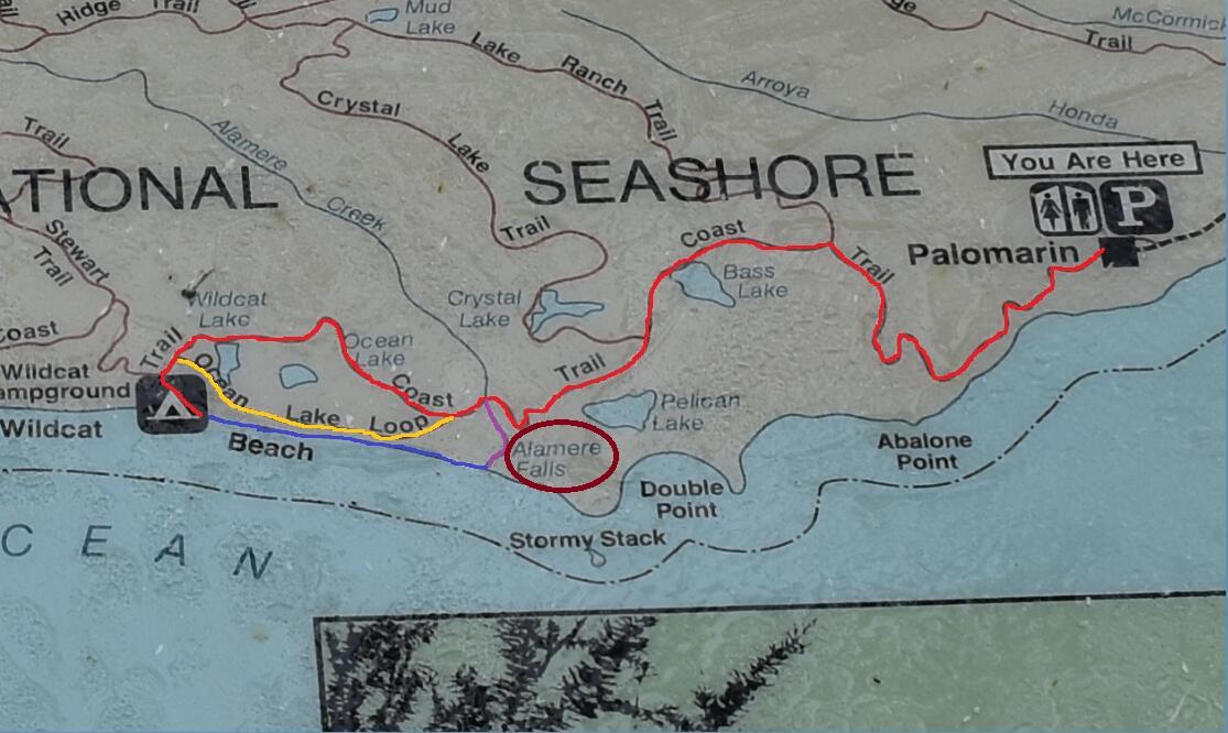 Alamere Falls_trail map