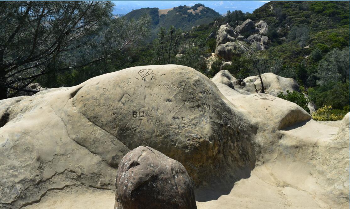 Mt Diablo Summit Trail-rock city