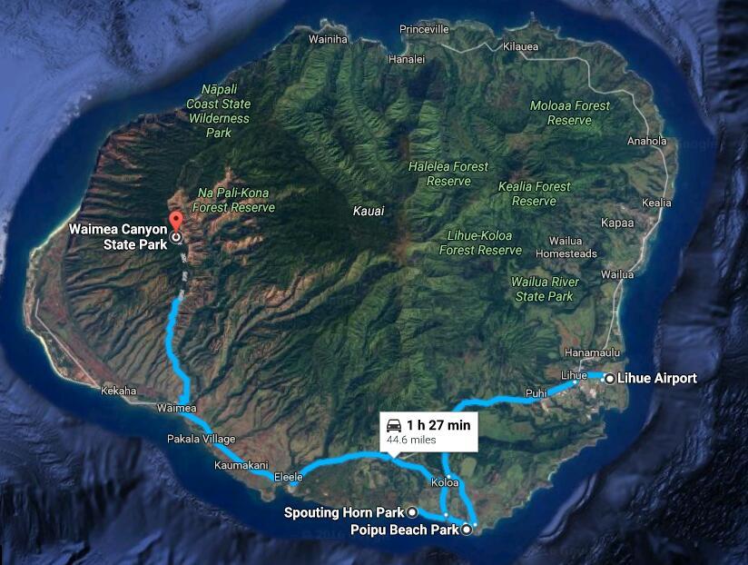 lihue-poipu-waimea-canyon